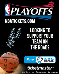 San Antonio Spurs Away Game Tickets