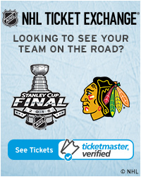 Chicago Blackhawks Away GameTickets