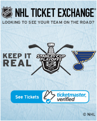 St. Louis Blues Away Game Tickets