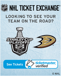 Anaheim Ducks Away Game Tickets
