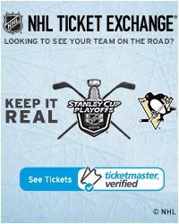 Pittsburgh Penguin Away Game Tickets
