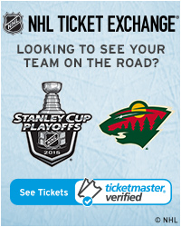 Minnesota Wild Away Game Tickets