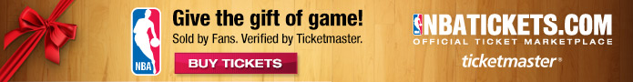 Get NBA Tickets now!