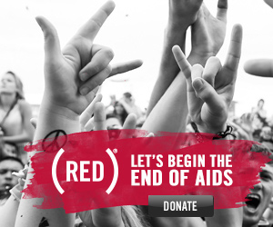 Click here to donate to (RED)