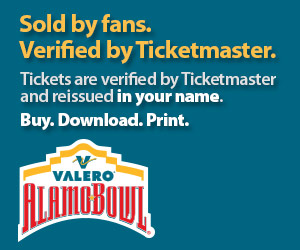 Alamo Bowl Tickets Verified by Ticketmaster