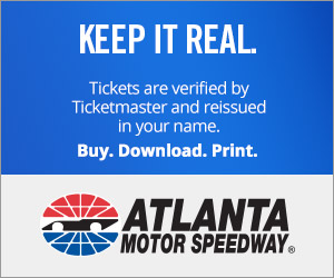 Atlanta Motor Speedway Tickets Verified by Ticketmaster