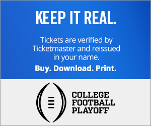 College Football Playoff Tickets Verified by Ticketmaster