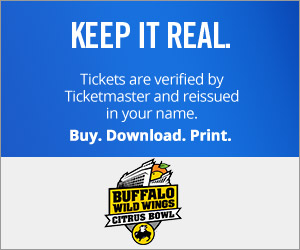 Capital One Bowl Tickets Verified by Ticketmaster