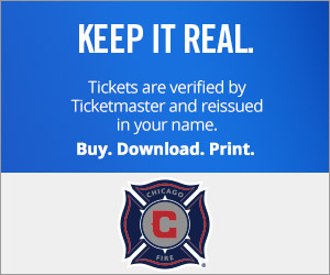 Chicago Fire Tickets Verified by Ticketmaster