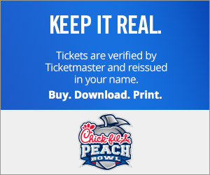 Chick Fil A Bowl Tickets Verified by Ticketmaster