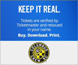 Columbus Crew SC tickets verified by Ticketmaster