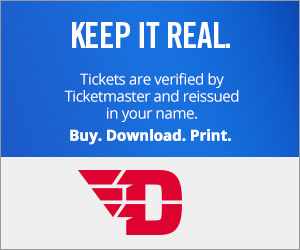 Dayton Flyers tickets verified by Ticketmaster