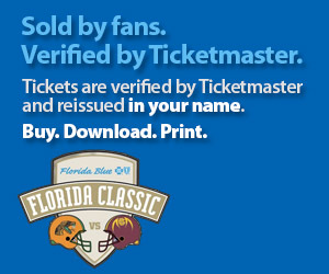 Florida Classic Tickets Verified by Ticketmaster