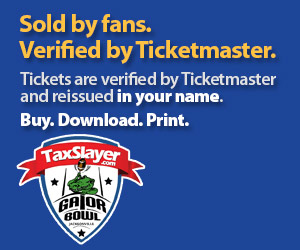 Gator Bowl Tickets Verified by Ticketmaster