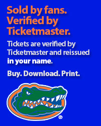 Florida Gators Tickets Verified by Ticketmaster