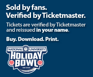 Holiday Bowl Tickets Verified by Ticketmaster