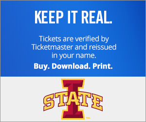 Iowa State Cyclones Tickets Verified by Ticketmaster
