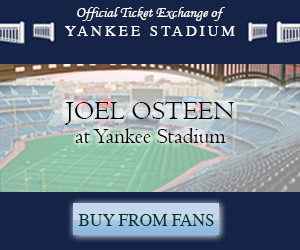 Joel Osteen at Yankee Stadium