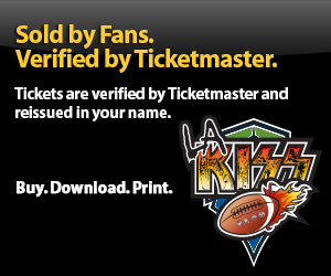 LA Kiss Tickets Verified by Ticketmaster