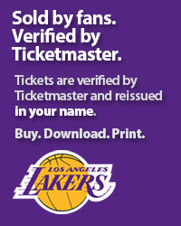LA Lakers Tickets Verified by Ticketmaster