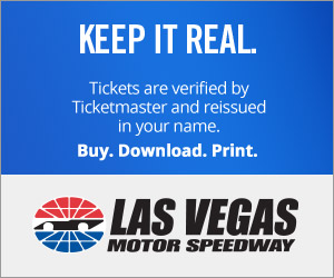Las Vegas Motor Speedway Tickets Verified by Ticketmaster