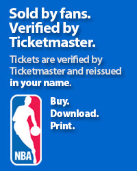 Indiana Pacers Tickets Verified by Ticketmaster