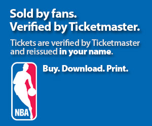 NBA Tickets Verified by Ticketmaster