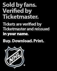 NHL Tickets Verified by Ticketmaster