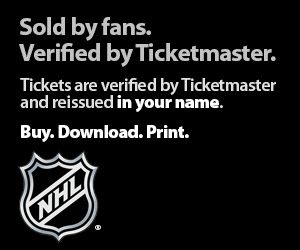 NHL Hockey Tickets 2013
