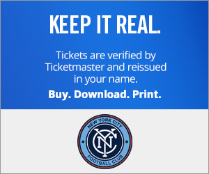 NYC FC Tickets Verified by Ticketmaster