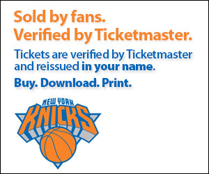 New York Knicks Tickets Verified by Ticketmaster