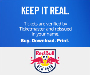 New York Red Bull Tickets Verified by Ticketmaster