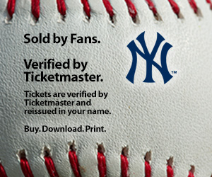 Yankees Tickets Verified by Ticketmaster