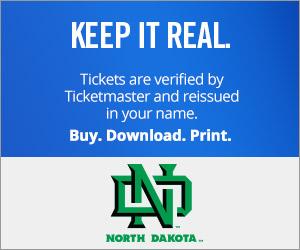 University of North Dakota Ticket Verified by Ticketmaster