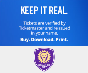 Orlando City SC Tickets Verified by Ticketmaster