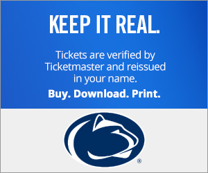 Penn State Tickets Verified by Ticketmaster
