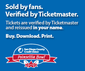 Poinsettia Bowl Tickets Verified by Ticketmaster