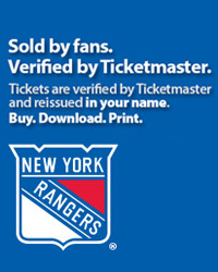 New York Rangers Tickets Verified by Ticketmaster