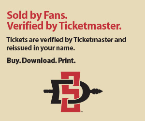 San Diego State University tickets verified by Ticketmaster