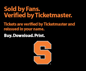 Syracuse Tickets Verified by Ticketmaster