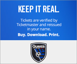 San Jose Earthquakes Tickets Verified by Ticketmaster