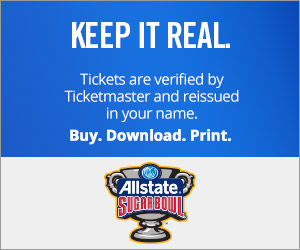 Sugar Bowl Tickets Verified by Ticketmaster
