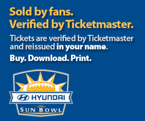Sun Bowl Tickets Verified by Ticketmaster
