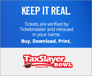 TaxSlayer Bowl tickets verified by Ticketmaster
