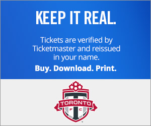 Toronto FC Tickets Verified by Ticketmaster