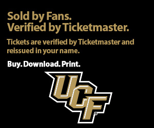 University of Central Florida Tickets Verified by Ticketmaster