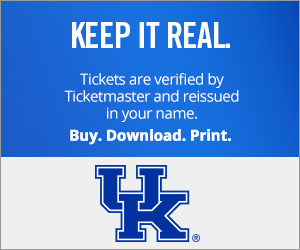 University of Kentucky Tickets Verified by Ticketmaster