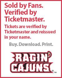 University of Louisiana - Lafayette Tickets