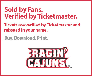 University of Louisiana Lafayette Tickets Verified by Ticketmaster