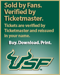 University of South Florida Tickets Verified by Ticketmaster